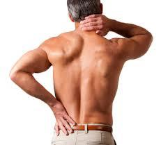 Man with Back and neck pain | Featured image for bulged discs blog.