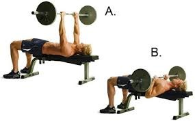 Image of man doing weights on seat