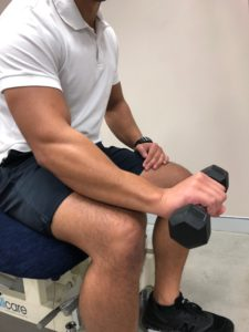 wrist extension finish