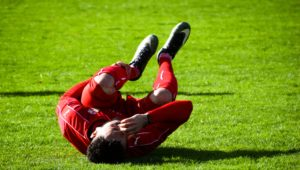 Mid game sporting injury