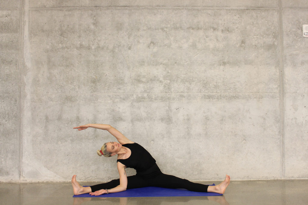 Woman stretching - The benefits of movement