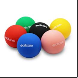 Colourful massage balls