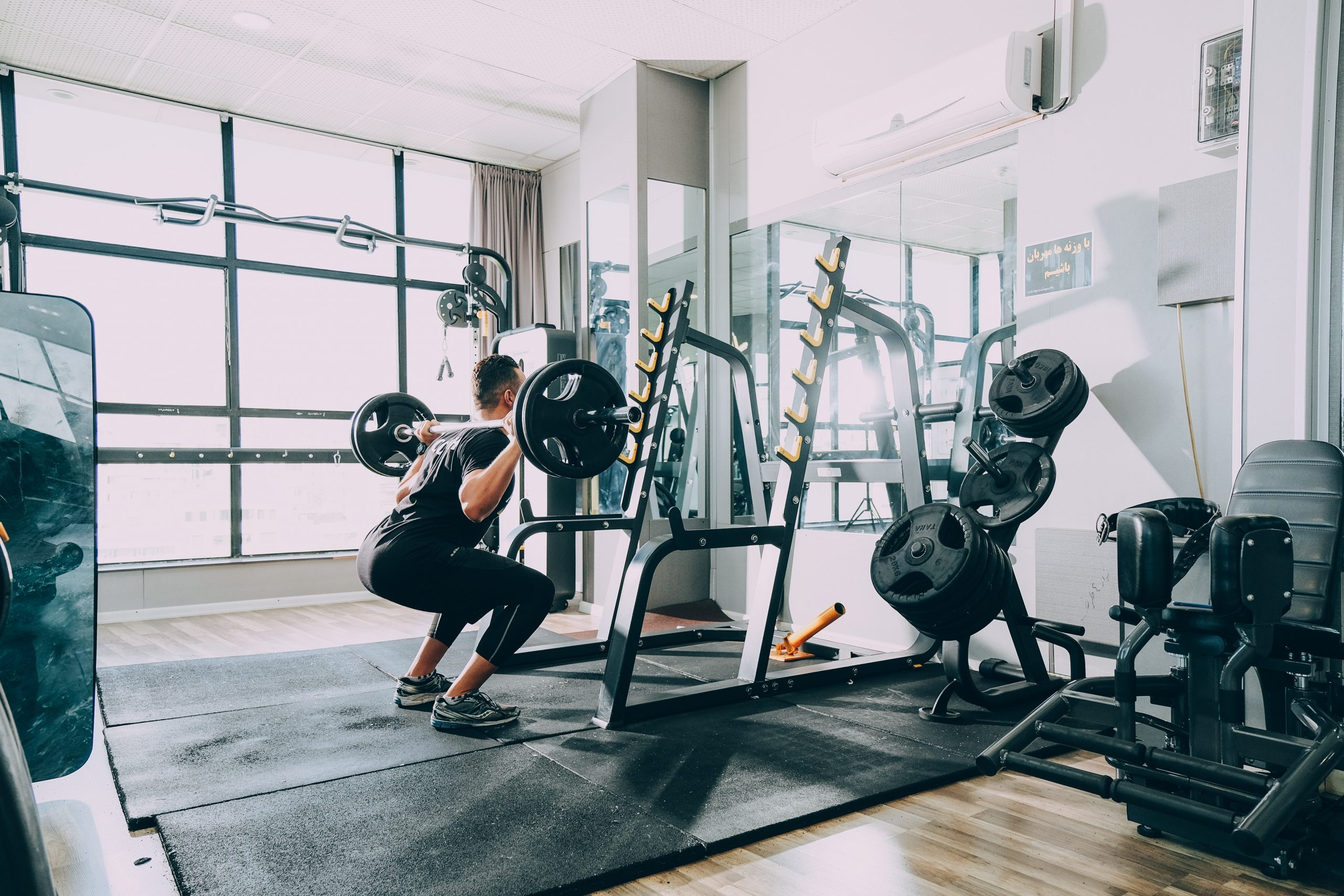 Guy doing squats | Pivotal Motion