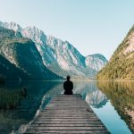 Guy meditating in the nature | Pivotal Motion